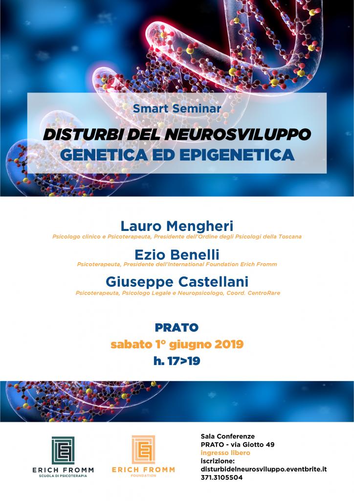 2019.06.01 DISTURBI DEL NEUROSVILUPPO - GENETICA ED EPIGENETICA