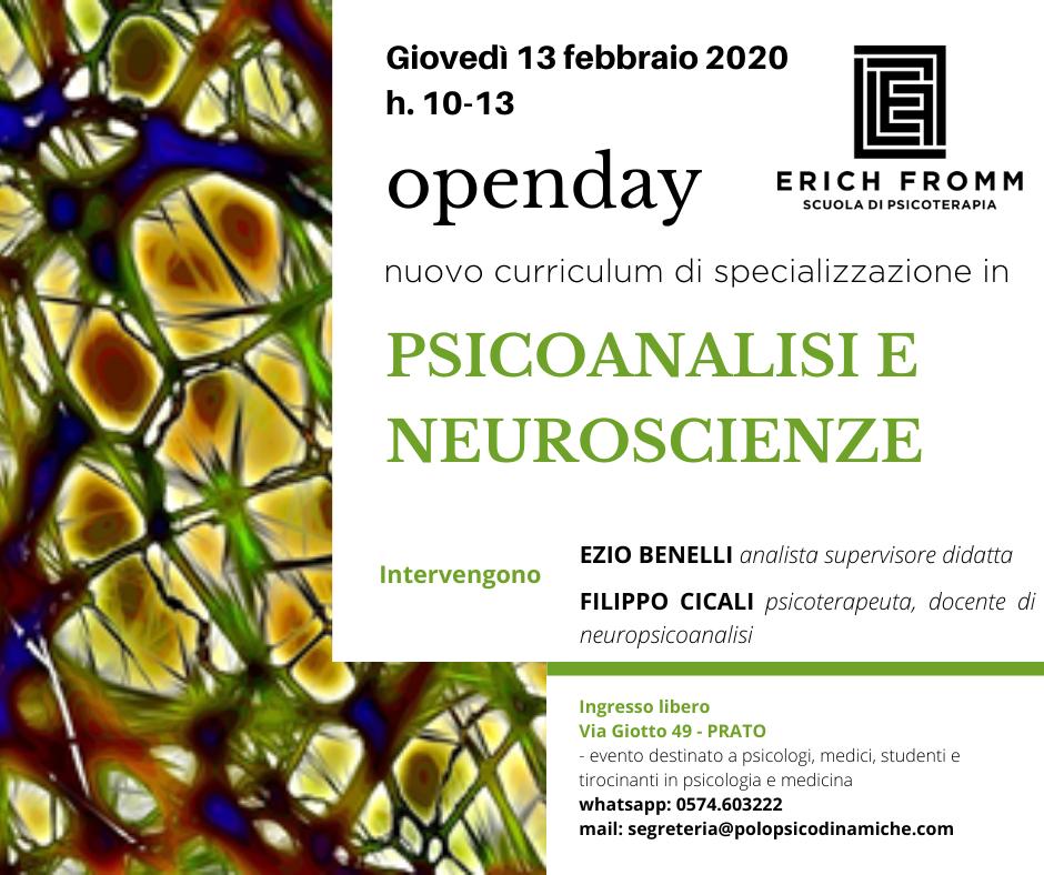 Psicoanalisi e Neuroscienze 2020