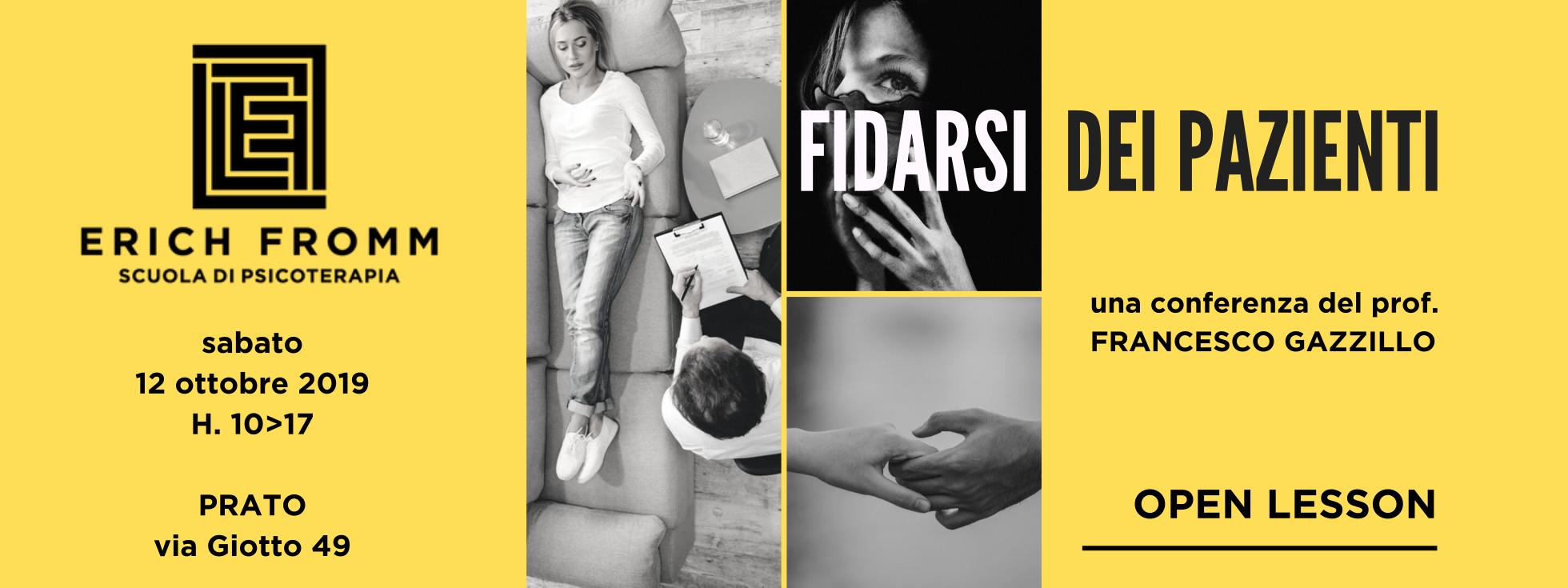 2019.10.12 GAZZILLO - FIDARSI DEI PAZIENTI sito banner