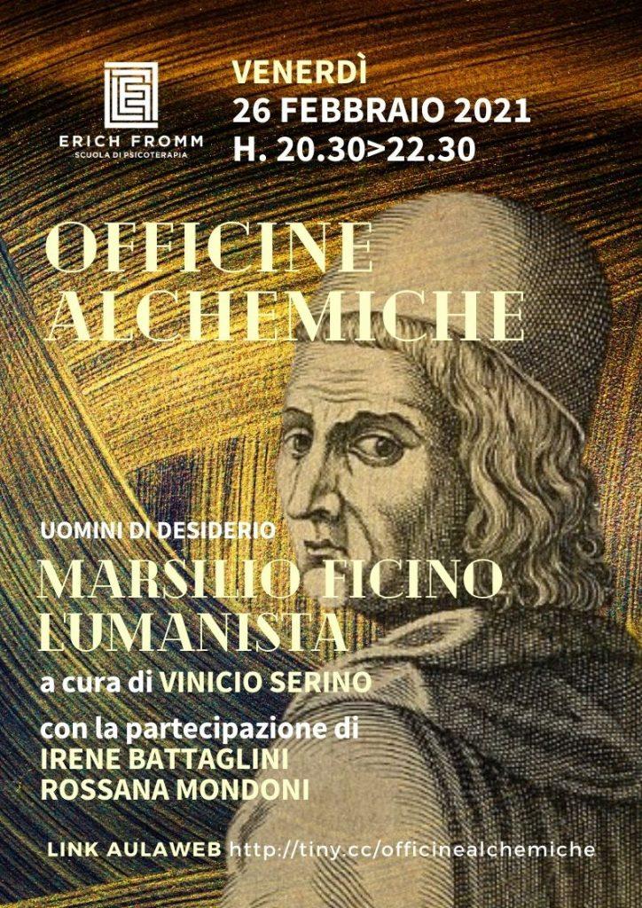 OFFICINE ALCHEMICHE - marsilio ficino_poster